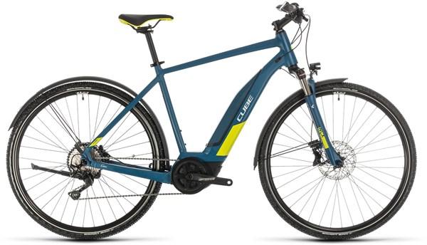 Cube Nature Hybrid EXC 500 AllRoad 2020 - Electric Hybrid Bike