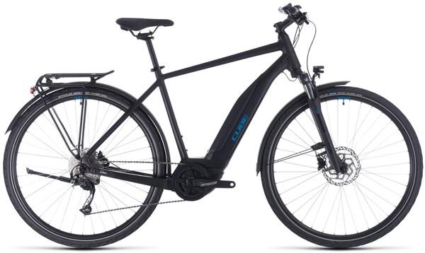 Cube Touring Hybrid One 400 2020 - Electric Hybrid Bike | City-cykler