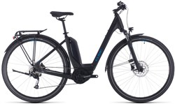 Product image for Cube Touring Hybrid One 400 Easy Entry Womens 2020 - Electric Hybrid Bike