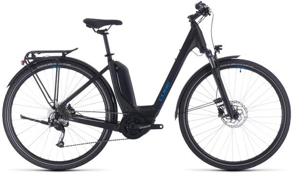 Cube Touring Hybrid One 400 Easy Entry Womens 2020 - Electric Hybrid Bike