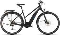 Cube Touring Hybrid One 400 Trapeze Womens 2020 - Electric Hybrid Bike