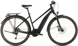 Cube Touring Hybrid One 500 Trapeze Womens 2020 - Electric Hybrid Bike