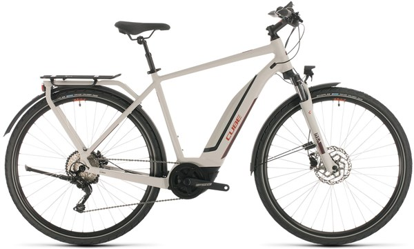 Cube Touring Hybrid Pro 500 2020 - Electric Hybrid Bike | City-cykler