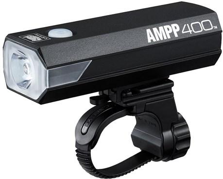 Cateye AMPP 400 USB Rechargeable Front Bike Light
