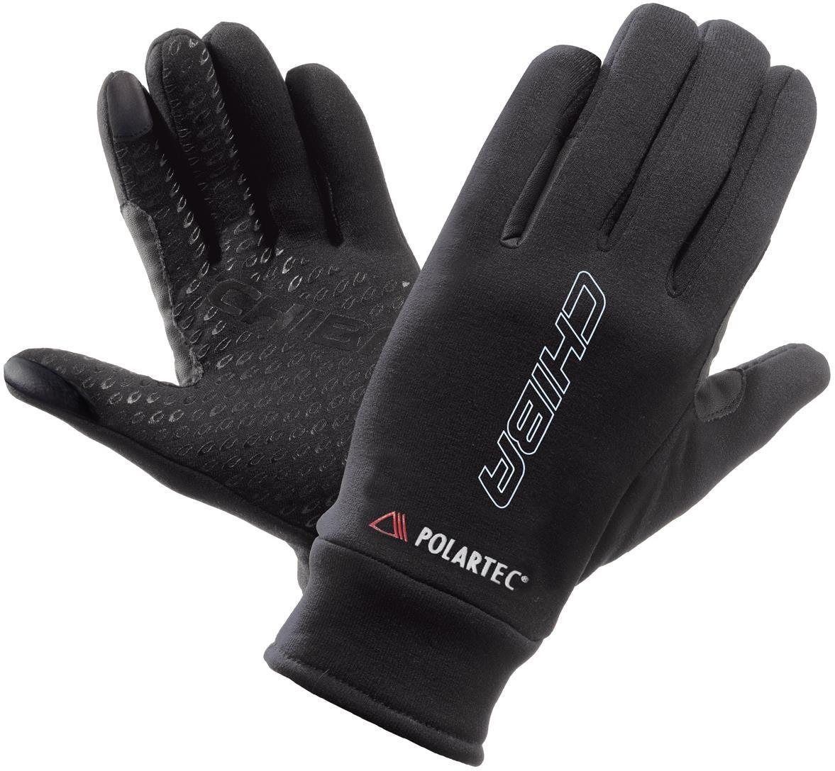 Chiba Polartec Fleece Long Finger Cycling Gloves   Gloves