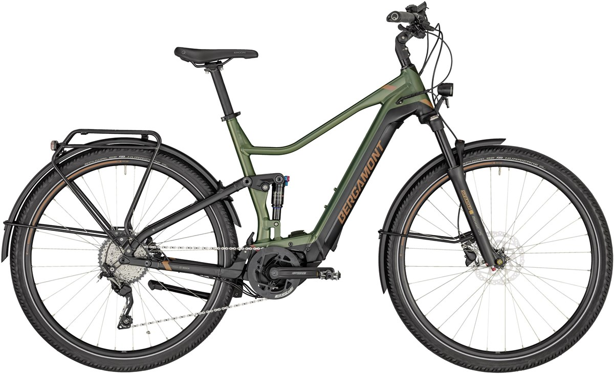 Bergamont E-Horizon FS Expert 600 2020 - Electric Road Bike | City