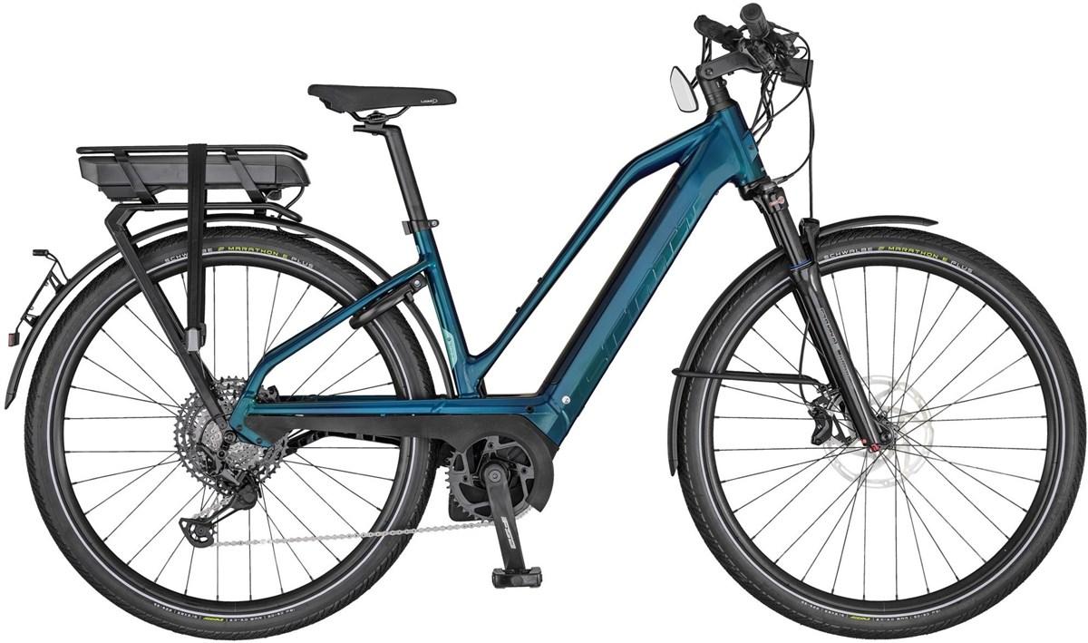 Scott Silence eRIDE 10 Womens 2020 - Electric Hybrid Bike | City