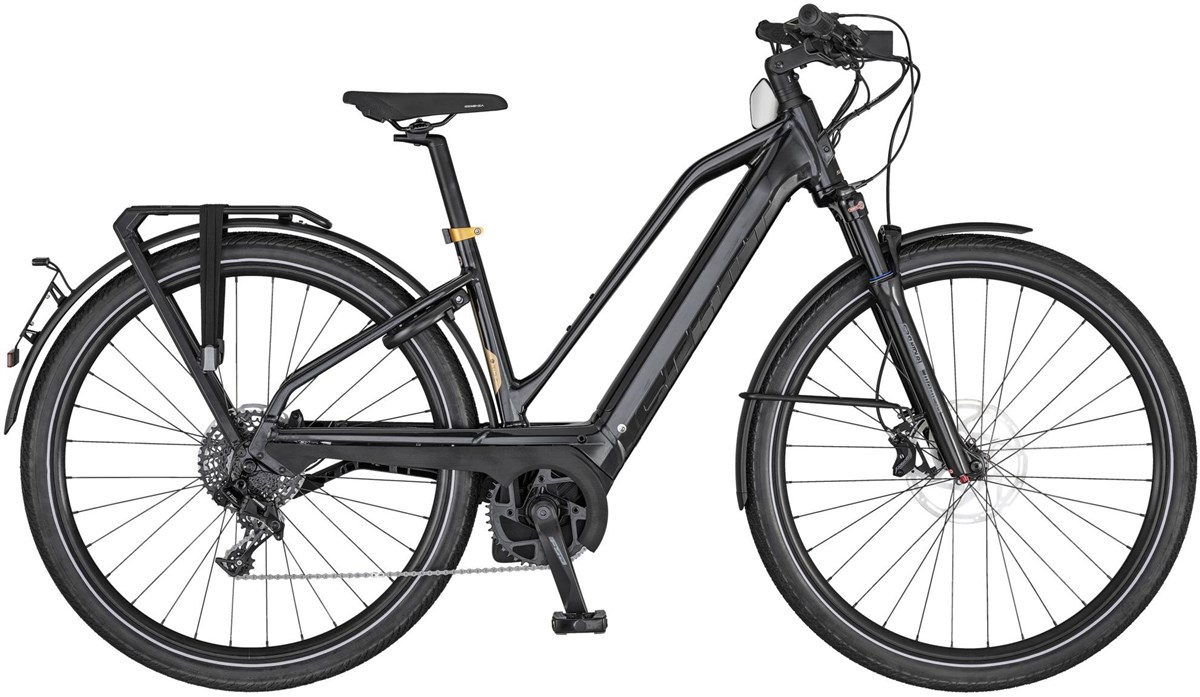 Scott Silence eRIDE 20 Womens 2020 - Electric Hybrid Bike | City