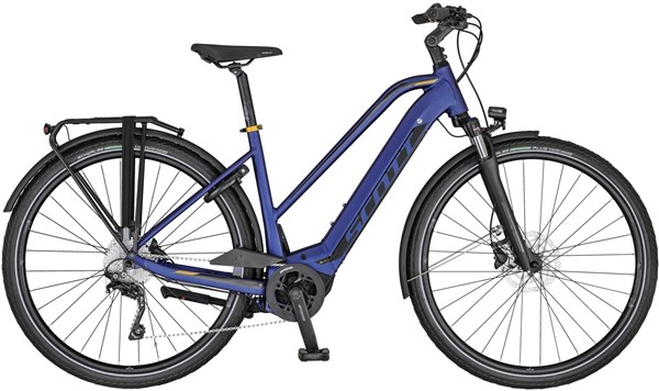 Scott Sub Tour ERIDE 10 Womens 2020 – Electric Hybrid Bike