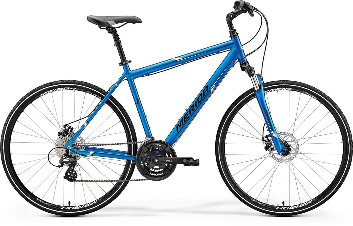 Merida Crossway 15-MD - Nearly New - M/L 2018 - Hybrid Sports Bike | City