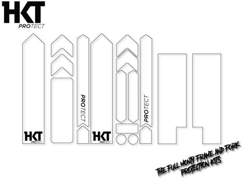 HKT ProTect The Full Monty, Frame and Fork Protection Kit