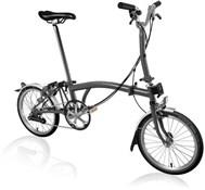 Brompton M6L - Graphite Metallic 2020 - Folding Bike