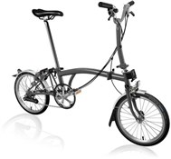 Brompton M6L - Graphite Metallic 2020 - Folding Bike