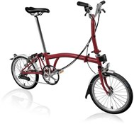 Brompton M6L - House Red 2020 - Folding Bike