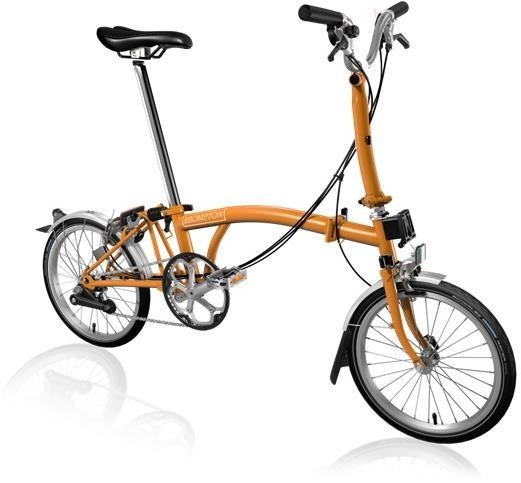 Brompton M6L - Matte Orange 2020 - Folding Bike | Folding