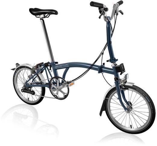 Brompton M6L - Tempest Blue 2020 - Folding Bike | Folding