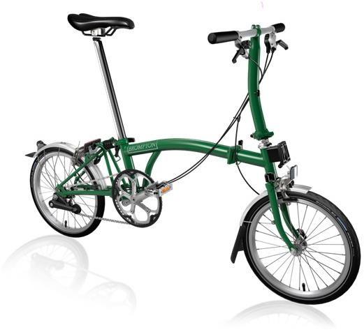 Brompton S2L - Racing Green 2020 - Folding Bike | Folding