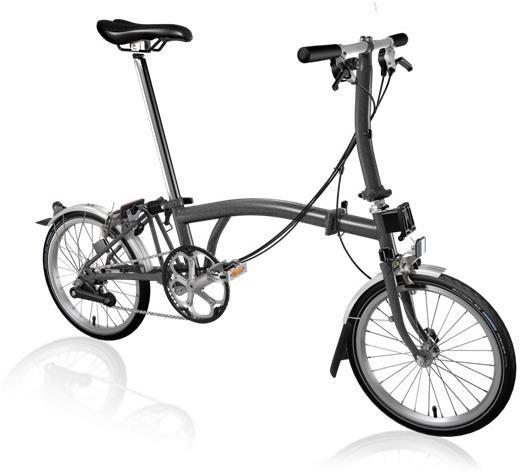 Brompton S6L - Graphite Metallic 2020 - Folding Bike | Folding