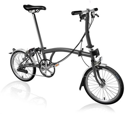 Brompton S6L - Graphite Metallic 2020 - Folding Bike
