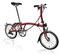 Brompton S6L - House Red 2020 - Folding Bike