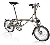 Brompton S6L - Raw Lacquer 2020 - Folding Bike