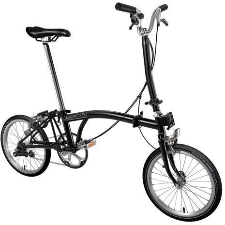 Brompton H3E - Black 2020 - Folding Bike | Folding