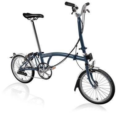 Brompton H6L - Tempest Blue 2020 - Folding Bike | Folding