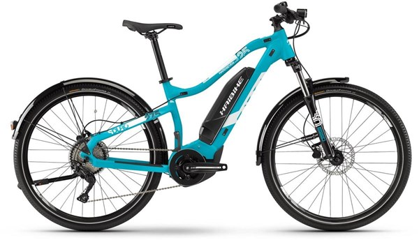 "Haibike SDURO HardSeven Life 2.5 Street Womens 27.5"" - Nearly New - XS 2019 - Electric Mountain Bike"