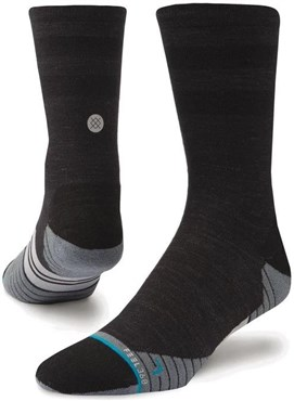 Stance Bike Solid Wool Crew Cycling Socks
