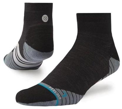 Stance Bike Solids Wool Quarter Cycling Socks