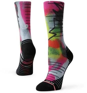 Stance Monitor Crew Womens Cycling Socks