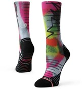 Stance Monitor Crew Womens Cycling Socks