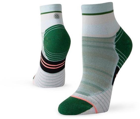 Stance Varsity Stripe Quarter Womens Running Socks | Socks