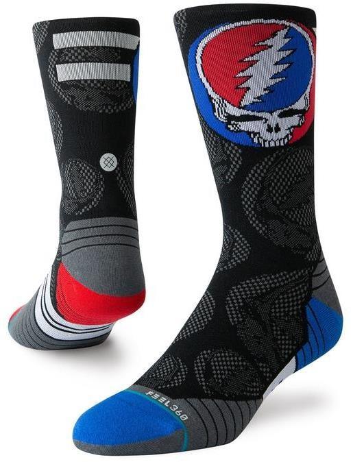 Stance Dead Head Crew Running Socks | Socks