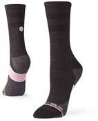 Stance Bike Solid Wool Crew Womens Cycling Socks