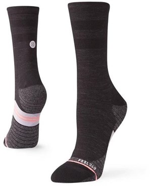 Stance Bike Solid Wool Crew Womens Cycling Socks