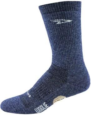 "Defeet Woolie Boolie Comp 6"" Cuff D-Logo Socks"