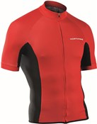 Northwave Force Short Sleeve Cycling Full Zip Jersey