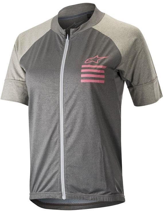 Alpinestars Stella Trail Full Zip Womens Short Sleeve Jersey | Jerseys