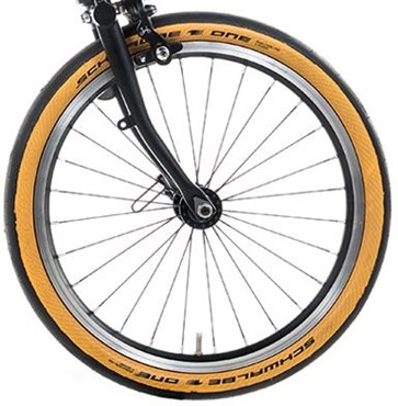 Brompton Replacement 35-349 Schwalbe One Tanwall Tyre