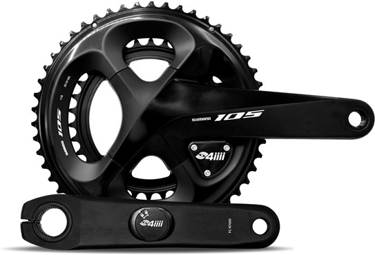 4iiii 105 7000 Precision Pro Installed Power Meter With Crankset