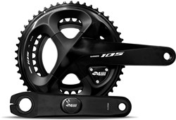 Product image for 4iiii 105 7000 Precision Pro Installed Power Meter With Crankset