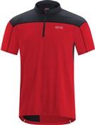 Gore C3 Zip Short Sleeve Jersey