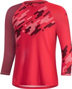 Gore C5 Womens Trail 3/4 Sleeve Jersey
