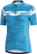 Gore C3 Womens Paint Short Sleeve Jersey