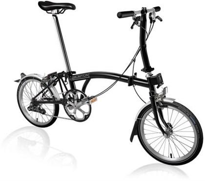 Brompton S2L - Black 2020 - Folding Bike