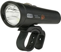 Product image for Light and Motion Taz 1200 Black Raven Front Light