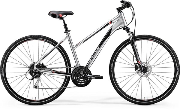 Merida Crossway 100 Womens - Nearly New - S 2018 - Hybrid Sports Bike
