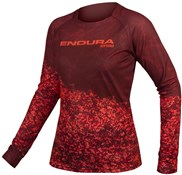 Product image for Endura MT500 Marble LTD Womens Long Sleeve Jersey