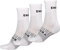 Product image for Endura Coolmax Race Cycling Socks - 3-Pack